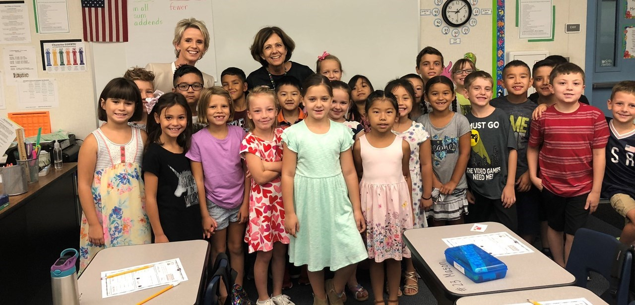 Our Superintendent visits Cedarwood!