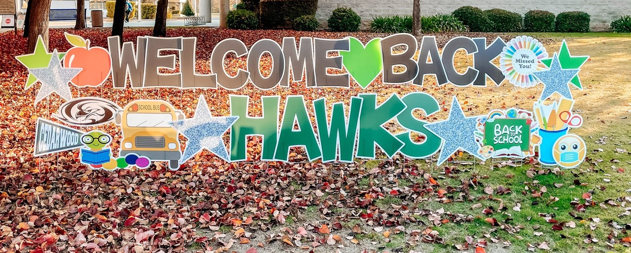 Welcome Back Hawks 2